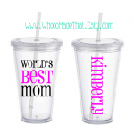 Mother's Day Personalized Tumbler -..